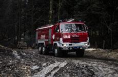 Więcej o: Pożar lasu